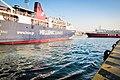 Boats in Piraeus Harbor, Greece (10046276584).jpg