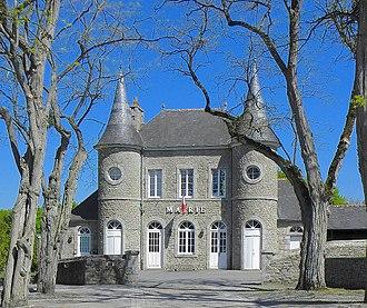 Bobital - The town hall of Bobital