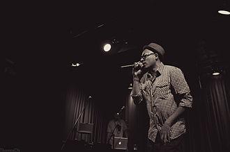 Bocafloja - Bocafloja performing in New York City, 2012