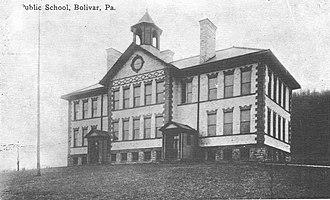 Bolivar, Pennsylvania - Bolivar Public School - 1904.