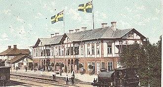 Wilhelmina Skogh - Image: Bollnäs Railroad Hotel Sweden
