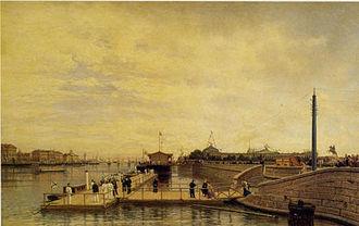 Neva River - Neva River in a nineteenth-century painting