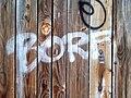 Borf on wooden door.jpg