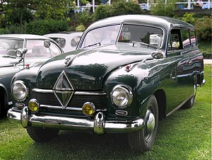 Borgward - Borgward Hansa 1500 of 1952