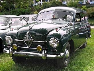 Borgward - Borgward Hansa 1500 of 1952
