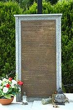 File:Borownica, pomník Polákům padlým v bojích s UPA, deska.jpg