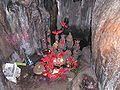 Borra Caves Lingam.JPG