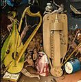 Bosch, Hieronymus - The Garden of Earthly Delights, right panel - Detail musical instruments (left).jpg
