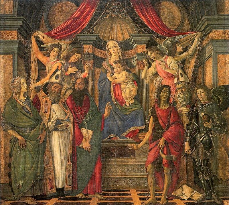 Botticelli, pala di san barnaba 01
