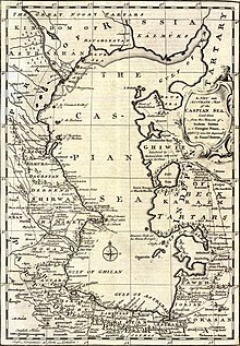 Caspian Sea - Wikipedia