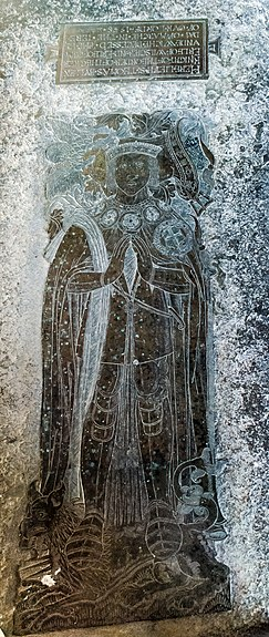 Brass to Sir Thomas Bullen, Hever church (16351933561).jpg