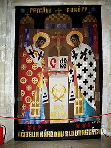 Tapiséria sv. cyrila a sv. metoda