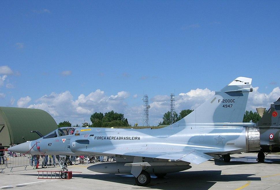 Brazilian Mirage 2000 Orange Air Base open day in May 2008 (2937788939)