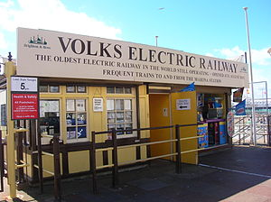 Volk's Electric Railway - Aquarium Station