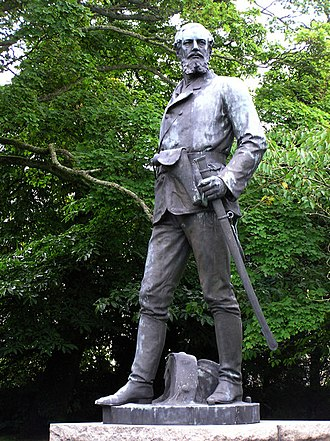Royal School Dungannon - John Nicholson statue in the grounds of Dungannon Royal School