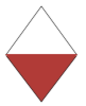 126th (East Lancashire) Brigade - 42nd (East Lancashire) Division insignia, First World War