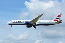 British Airways, Boeing 787-9 G-ZBKI NRT (28146911732).jpg