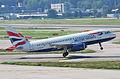 British Airways Airbus A319-131; G-EUOF@ZRH;20.08.2009 551ca (4328952474).jpg