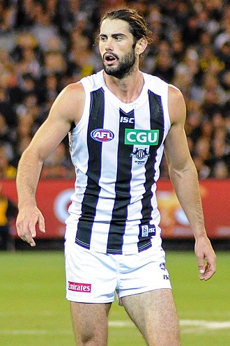 Brodie Grundy - Grundy playing for Collingwood in March 2017