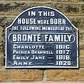 Bronte Birthplace plaque (2393327352).jpg