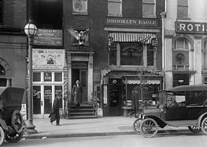 The Brooklyn Eagle's Washington bureau office,...