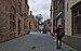 Bruges, BE (DSCF4816) Korte Vuldersstraat, looking towards Sint-Salvatorskerkhof.jpg