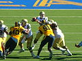 Bruins on offense at UCLA at Cal 2010-10-09 23.JPG