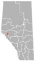 Brule, Alberta Location.png