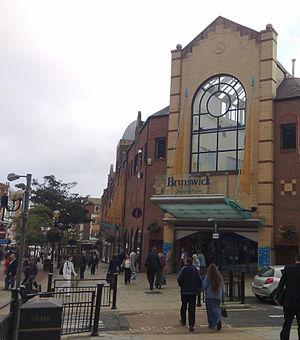 Brunswick Shopping Centre - Image: Brunswick Shopping Centre Rear