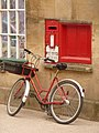 Bruton, postbox No. BA10 123, High Street - geograph.org.uk - 1317669.jpg