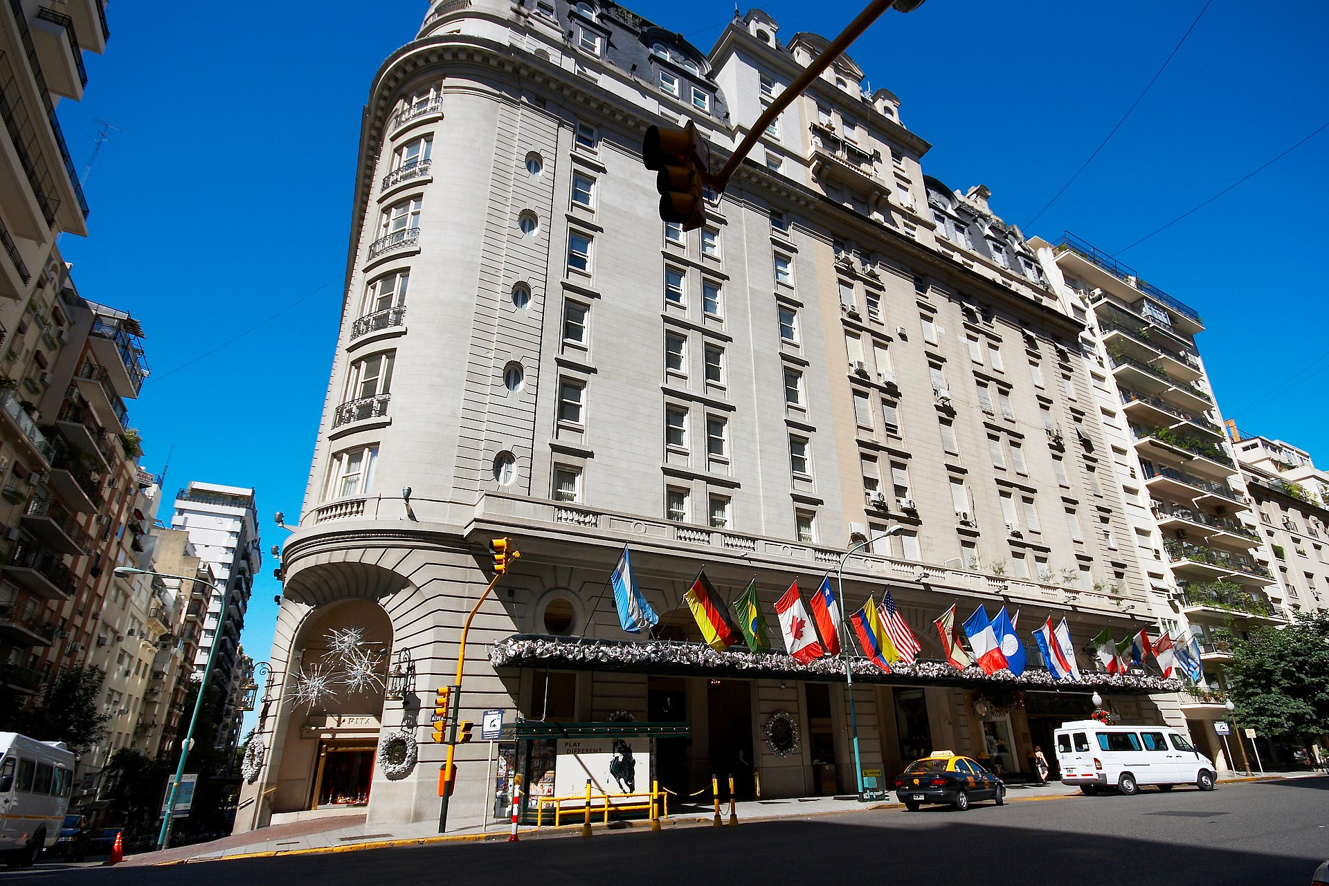Alvear palace hotel wikipedia for Hotel buenos aires design recoleta
