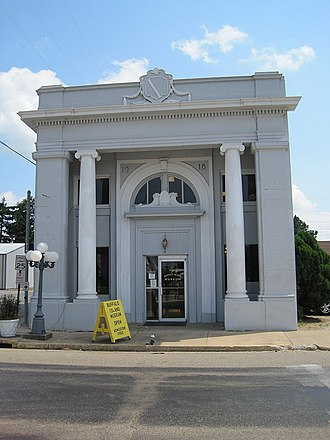 Monette, Arkansas - The First National Bank Building in Monette is listed on the National Register of Historic Places.