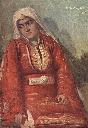 Ivan Mrkvička - Image: Bulgarian woman from Smilevo, 1931