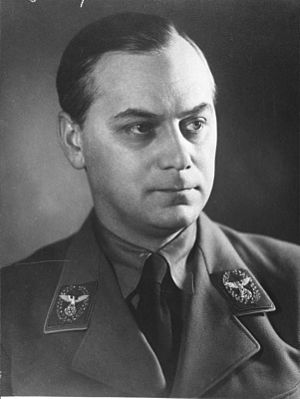 Nazi archaeology - Alfred Rosenberg in 1939