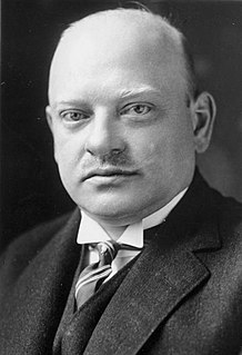 Gustav Stresemann German politician, statesman, and Nobel Peace Prize laureate