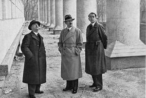 Leonhard Gall - Leonhard Gall, Adolf Hitler, Albert Speer