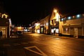 Bungay, junction of Earsham Street and Chaucer Street at night - geograph.org.uk - 2720125.jpg