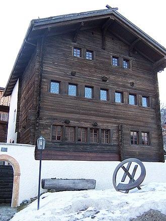 Unterbäch - Old house in Unterbäch