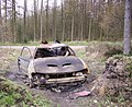 Burnt out Car Silpho Moor - geograph.org.uk - 395961.jpg
