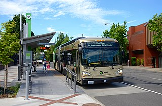 The Vine (bus rapid transit) bus rapid transit service in Vancouver, Washington