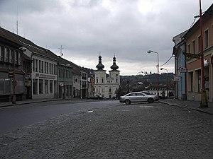 Bystřice nad Pernštejnem - Image: Bystřice nad P