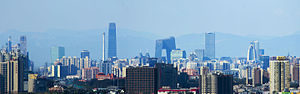 Jingjinji - Image: CBD view from Tongzhou 3