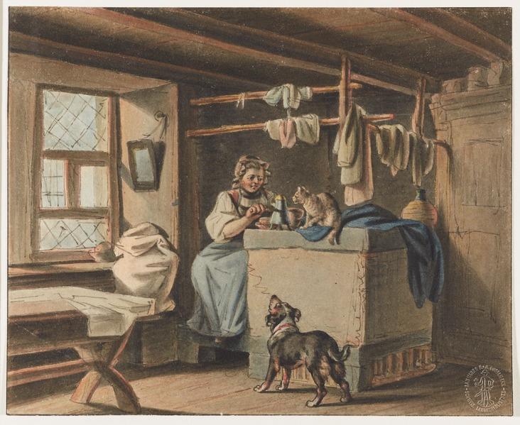 File:CH-NB - Bauern, häusliche Tätigkeiten - Collection Gugelmann - GS-GUGE-MIND-E-1.tif