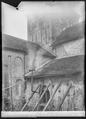 CH-NB - Romainmôtier, Abbatiale, Nef, vue partielle extérieure - Collection Max van Berchem - EAD-7467.tif