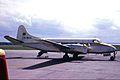 CN-MAA DH114 Heron 2 Royal Maroccan A-F LPL 08JUL64 (6812539143).jpg