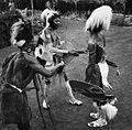 COLLECTIE TROPENMUSEUM Een dansvoorstelling van de Village Dancers TMnr 20014325.jpg