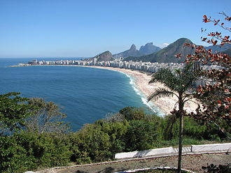 Triathlon at the 2016 Summer Olympics - View on Copacabana