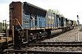 CSX Transportation - 3124 & 4797 diesel locomotives (Marion, Ohio, USA) 2 (43222889451).jpg