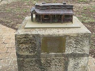 Auburn, South Australia - Image: C J Dennis memorial, Auburn