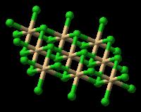 Model molekuly bromidu kademnatého